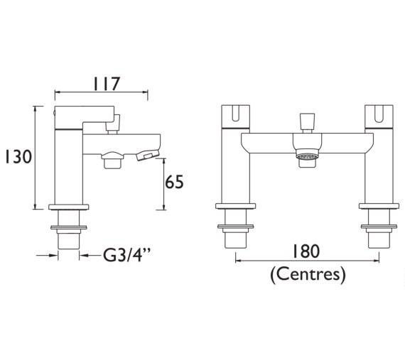 Technical drawing QS-V6927 / CLI BSM C
