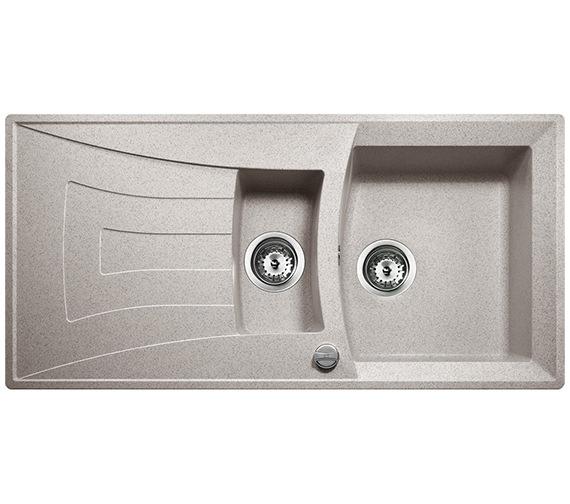 Teka Universo 60 Quartz Stone Granite 1.5 Bowl Inset Sink