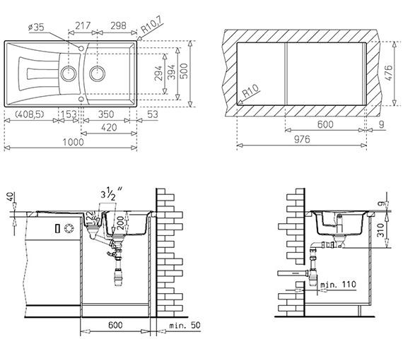 Technical drawing QS-V84255 / CTK1072