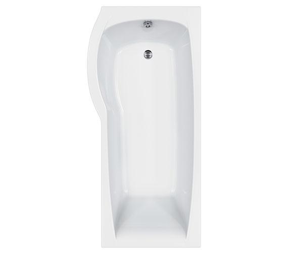 Carron Aspect Low Line Shower Bath 1700 x 800mm - CABATSB175PALH