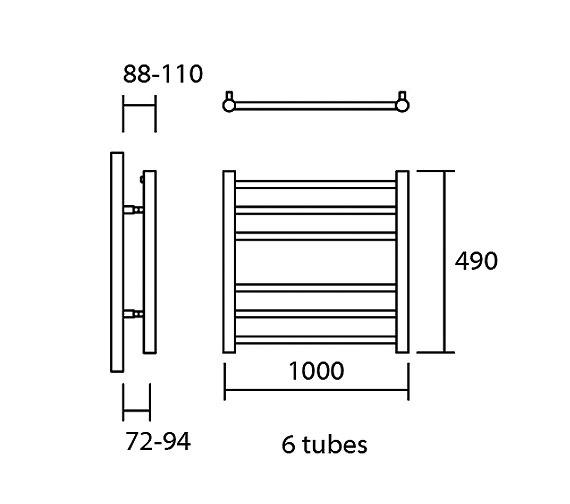 Technical drawing QS-V13624 / Elec-Siena 100/49