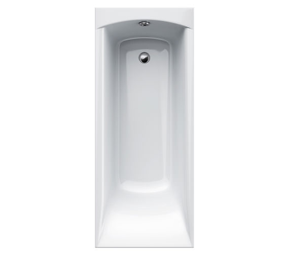 Carron Delta Acrylic Single Ended Bath 1700 x 700mm - CABDE175PA