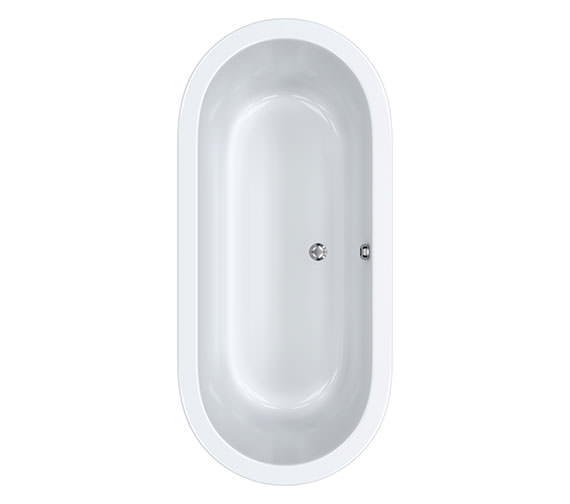 Carron Halcyon Oval Freestanding Bath 1750 x 800mm - CABHLFS17580PACN
