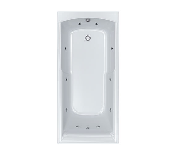 Carron Apex 11 Jet Whirlpool Bath 1700 x 800mm