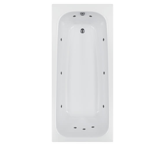 Carron Biarritz 11 Jets Whirlpool Bath 1800 x 800mm
