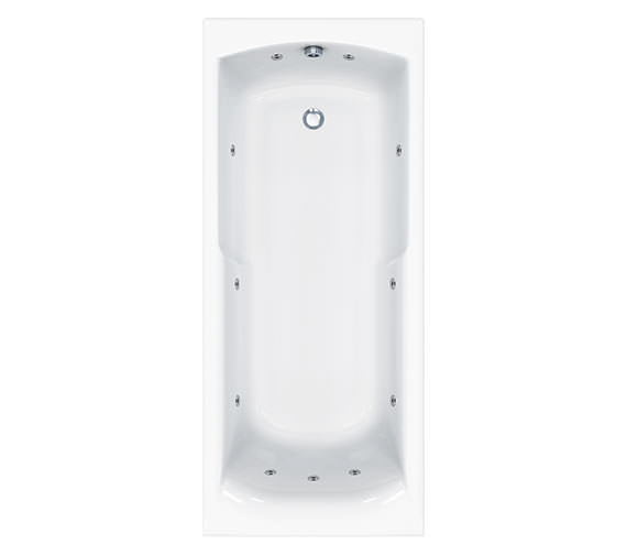 Carron Matrix 11 Jet Whirlpool Bath 1600 x 700mm