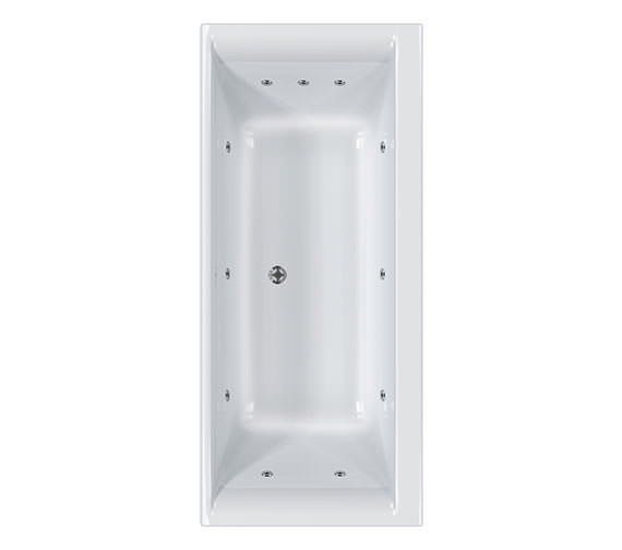 Carron Haiku 11 Jet Whirlpool Bath 1800 x 900mm