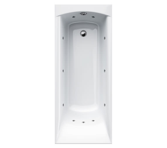 Carron Delta 11 Jet Whirlpool Bath 1500 x 700mm