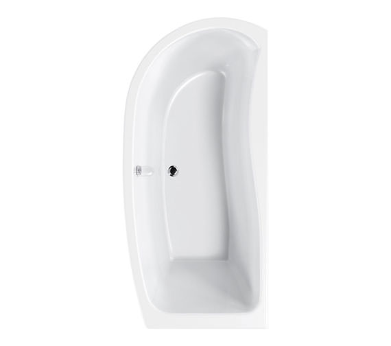 Carron Agenda Corner Offset Shower Bath 1700 x 700mm - CABAG175PALH