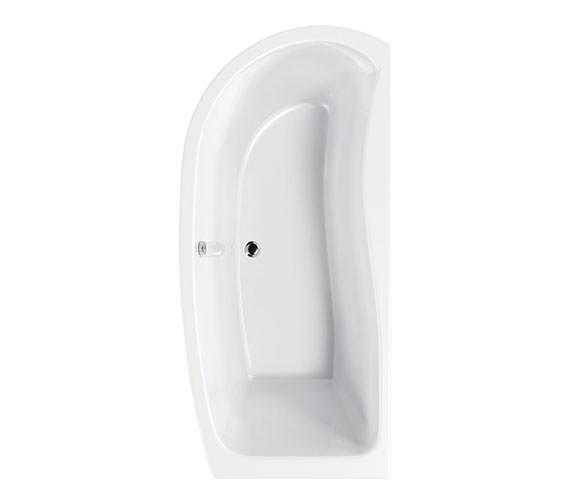 Carron Agenda Corner Offset Shower Bath 1700 x 700mm - CABAG175PALH