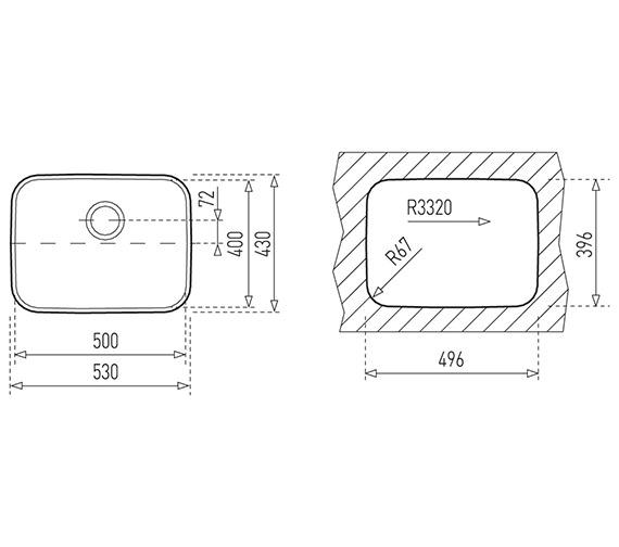 Technical drawing QS-V84261 / CTK2014