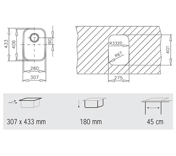 Technical drawing QS-V84257 / CTK2004
