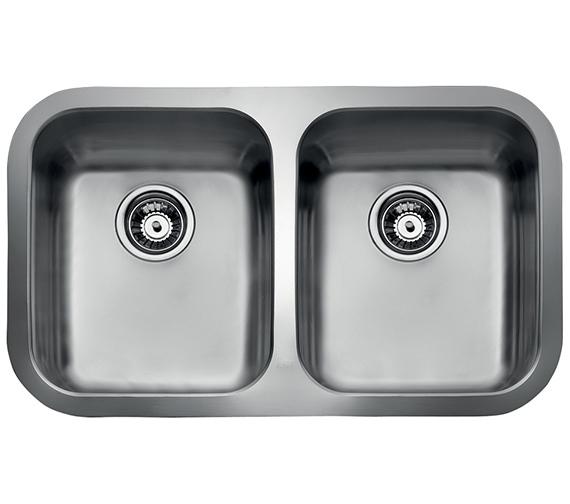 Teka BE 2B 780 Stainless Steel 2.0 Bowl Undermount Sink