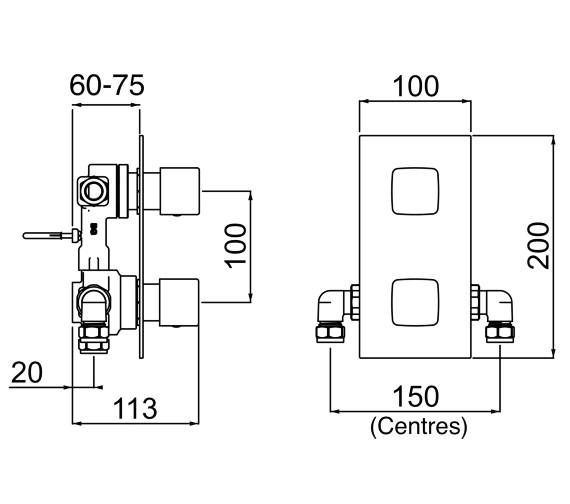Technical drawing QS-V14279 / COB SHCDIV C