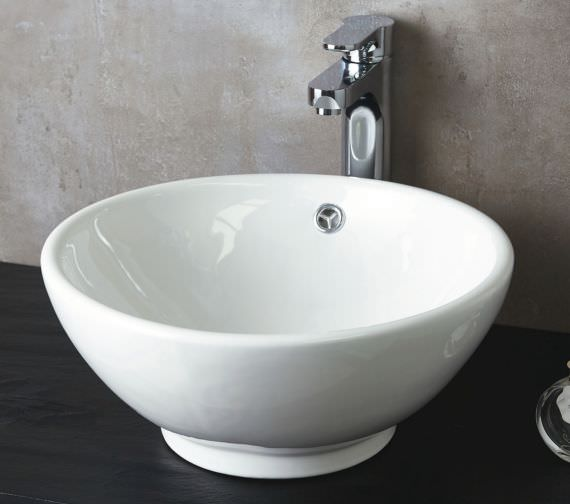 Phoenix Round 400mm Counter Top Basin