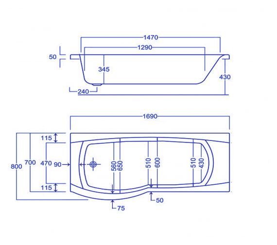 Technical drawing QS-V34536 / Q4-02025