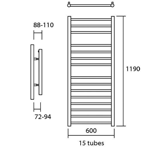 Technical drawing QS-V13632 / Elec-Siena 60/120