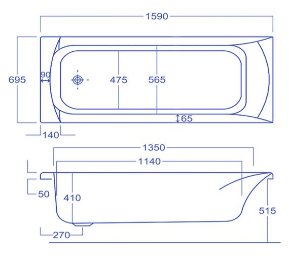 Technical drawing QS-V34540 / Q4-02055