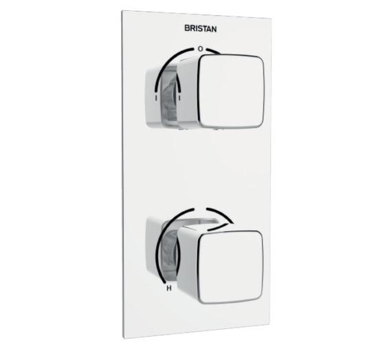 Bristan Cobalt Thermostatic Recessed Dual Control Shower Valve