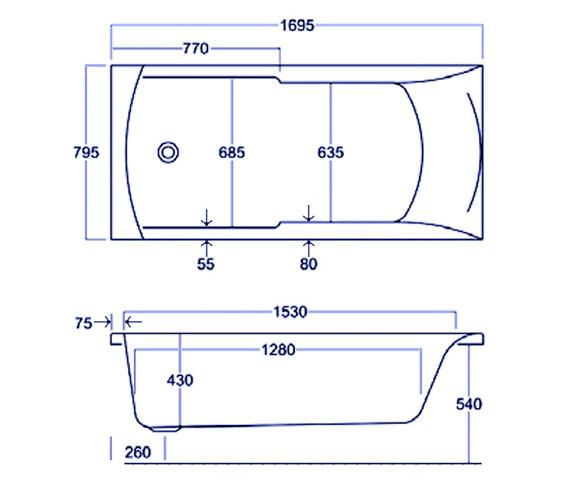 Technical drawing QS-V34573 / Q4-02011