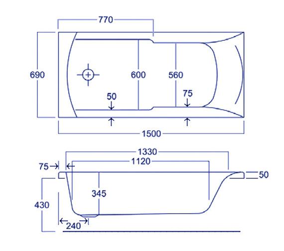 Technical drawing QS-V34574 / Q4-02029