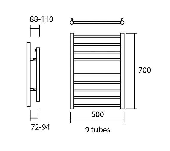 Technical drawing QS-V13628 / Elec-Siena 50/70