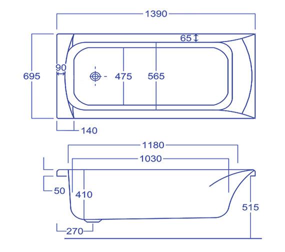 Technical drawing QS-V34538 / Q4-02047