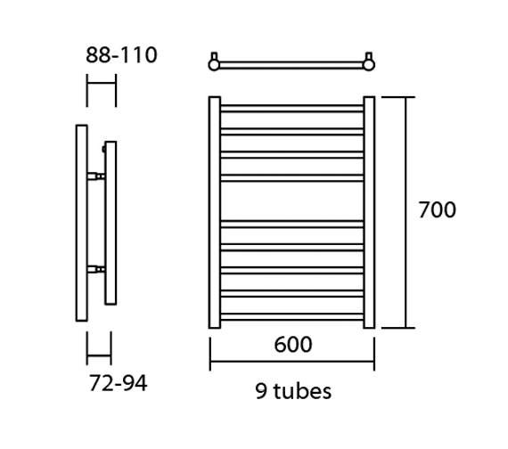 Technical drawing QS-V13631 / Elec-Siena 60/70