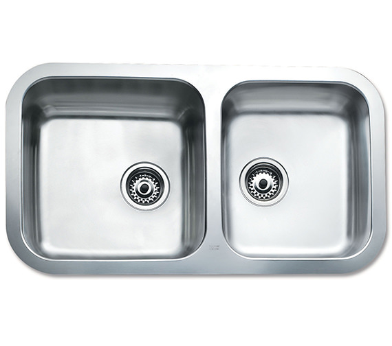 Teka BE 2B 845 R Stainless Steel 2.0 Bowl Undermount Sink