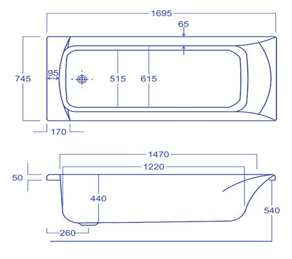 Technical drawing QS-V34558 / Q4-02189