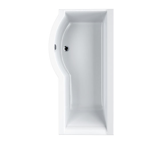 Carron Urban Compact 5mm Acrylic Shower Bath 1500 x 750-900mm