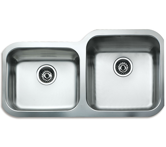 Teka BE 2B 880 Stainless Steel 2.0 Left Hand Small Bowl Undermount Sink