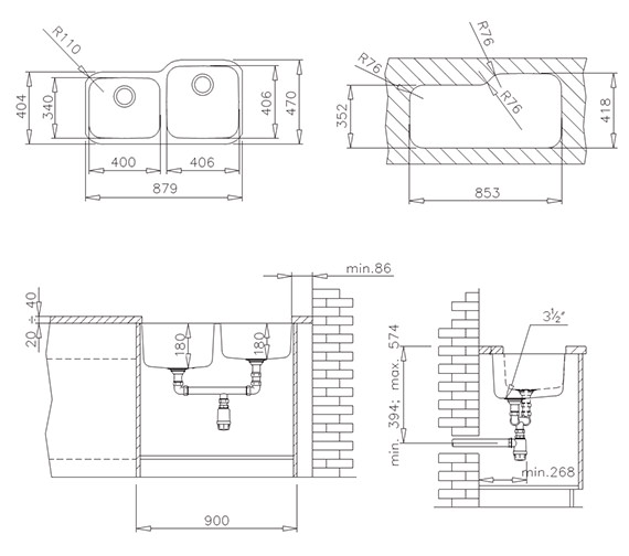Technical drawing QS-V84267 / CTK2032