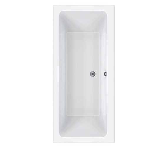 Carron Quantum Double Ended Acrylic Bath 1700 x 700mm - CABQUDE175PA