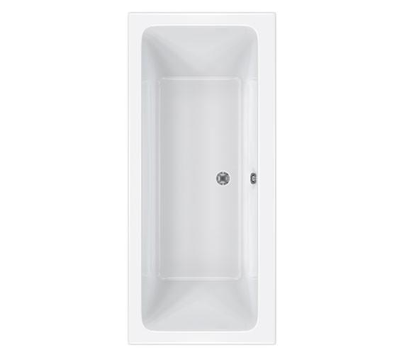 Carron Quantum Double Ended Acrylic Bath 1800 x 800mm - CABQUDE185PA