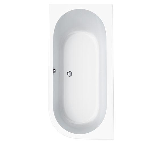Carron Status Offset Corner Right Hand Bath 1700 x 725mm