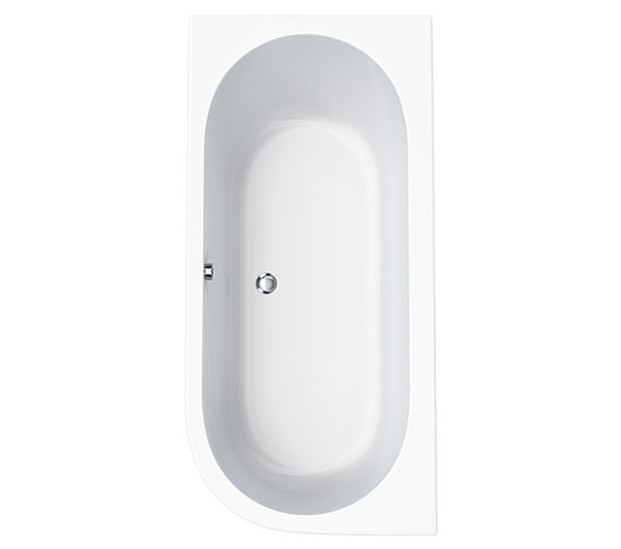 Carron Status Offset Corner Right Hand Bath 1700 x 800mm