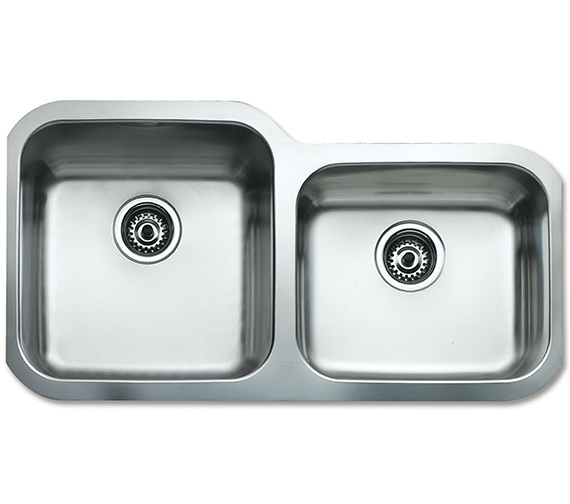 Teka BE 2B 880 Stainless Steel 2.0 Right Hand Small Bowl Undermount Sink