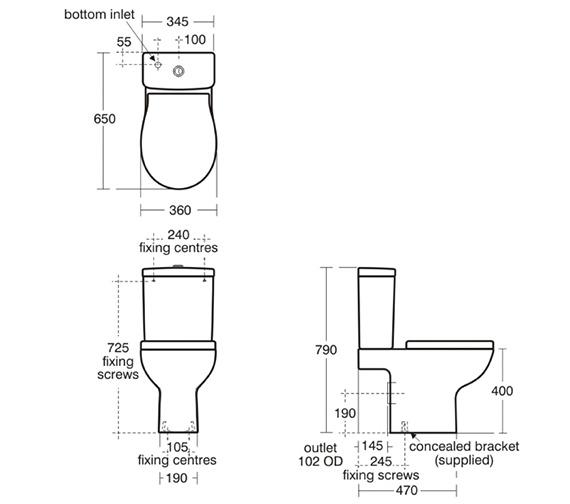 Technical drawing QS-V39133 / E301201