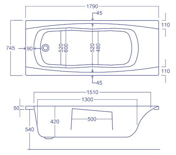 Technical drawing QS-V34767 / Q4-02116
