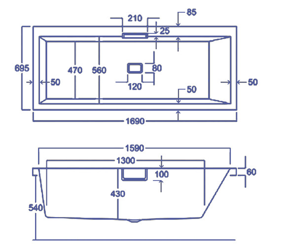 Technical drawing QS-V34770 / Q4-02406