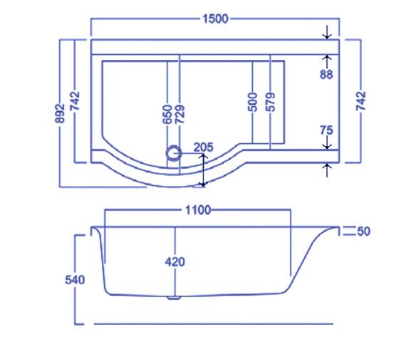 Technical drawing QS-V18910 / Q4-02365