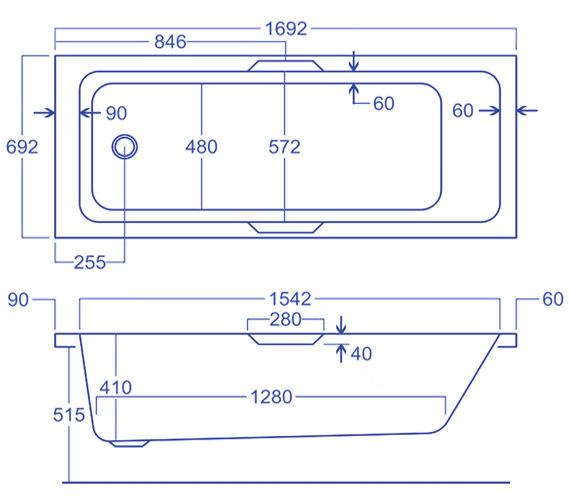 Technical drawing QS-V19620 / Q4-02169