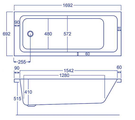 Technical drawing QS-V34552 / Q4-02151