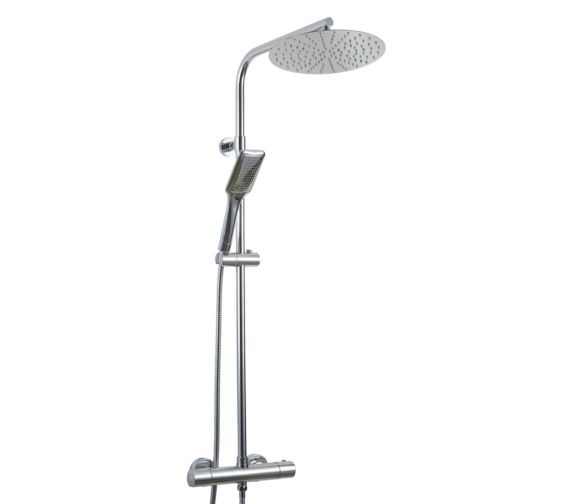 Phoenix Thermostatic Shower Valve With Diverter Rail Head And Hand Shower