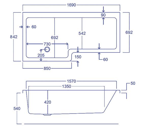 Technical drawing QS-V38483 / Q4-02207