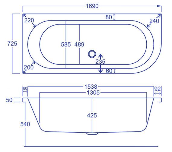 Technical drawing QS-V34563 / Q4-02215