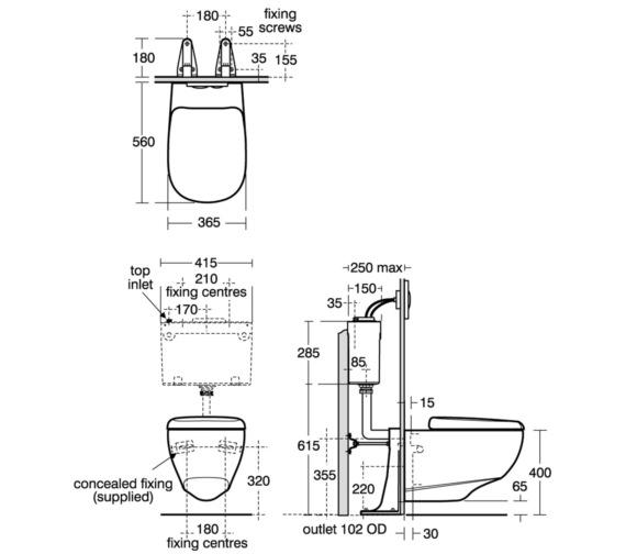 Technical drawing QS-V39098 / E621701