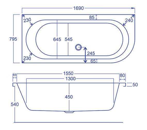 Technical drawing QS-V34564 / Q4-02219