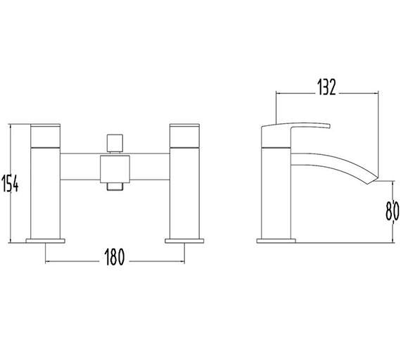 Technical drawing QS-V22137 / TSI304